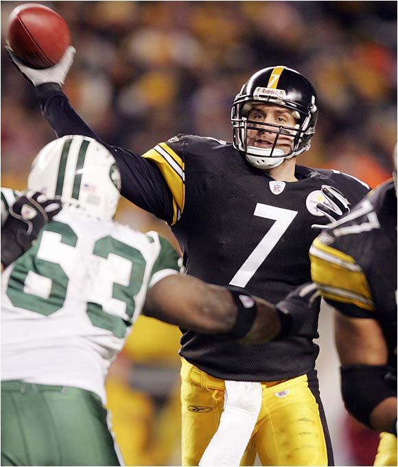 Ben Roethlisberger vs NYG