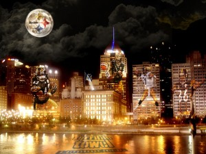 Pittsburgh Steelers and the Skyline