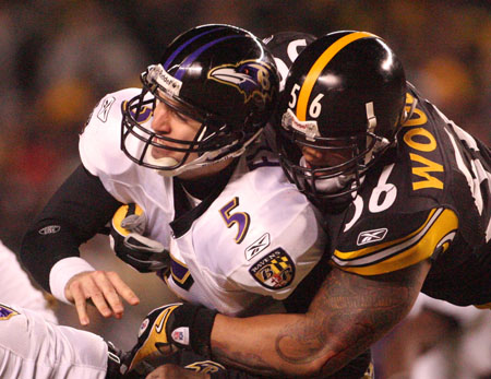 Baltimore Ravens vs Pittsburgh Steelers AFC Championship