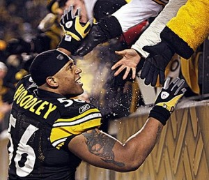 LaMarr Woodley - AFC Championship Game