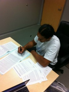Troy Polamalu Signing Contract
