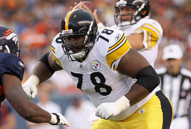 Max Starks - Steelers LT
