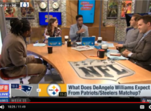 DeAngelo Williams Good Morning Football