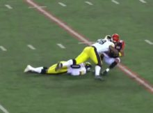 Ryan Shazier Injury Causing Tackle