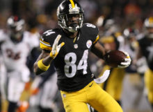 Antonio Brown - Denver Broncos at Pittsburgh Steelers