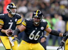 David Decastro OG Steelers.