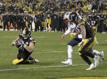 Jesse James Overturned TD Catch - NFL Catch Rule