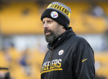 Steelers OC Todd Haley- Giants at Steelers