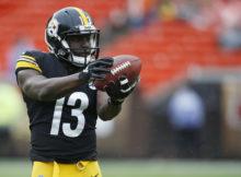 Steelers WR James Washington